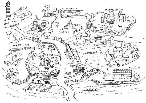 Cherry Pie Island map