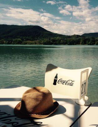 Lake coca cola