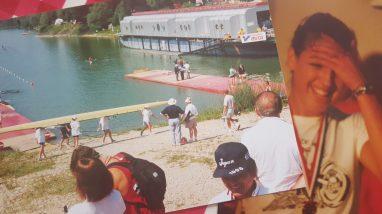 Lake rowing